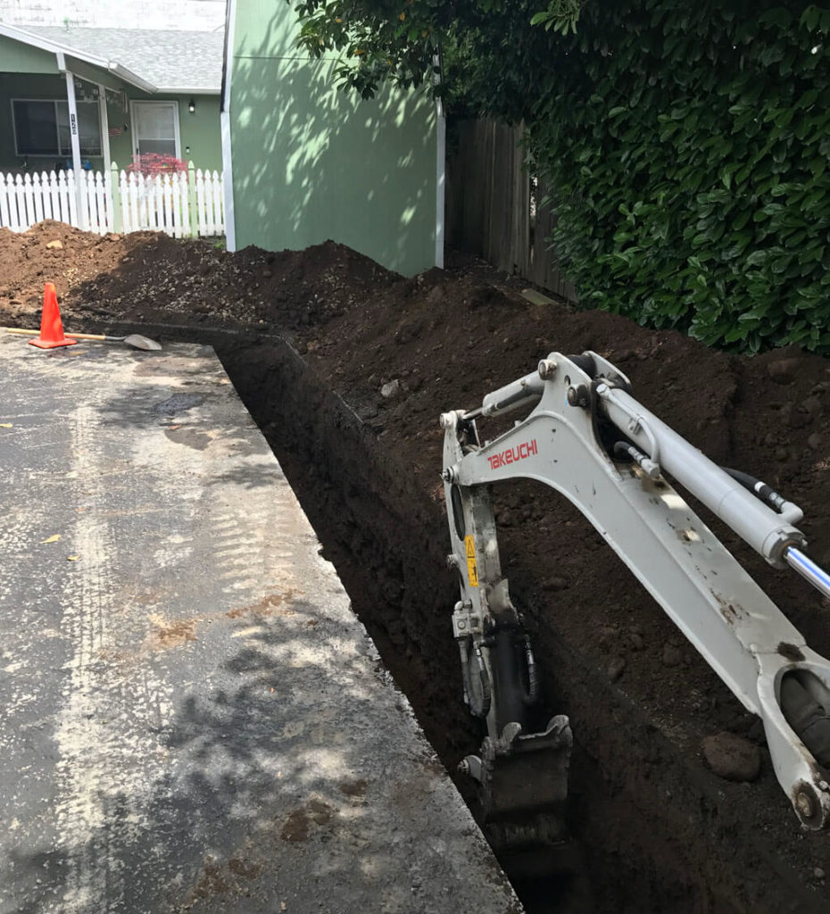 sewer replacement houston