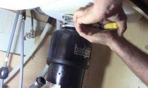 DIY Garbage Disposal Repair
